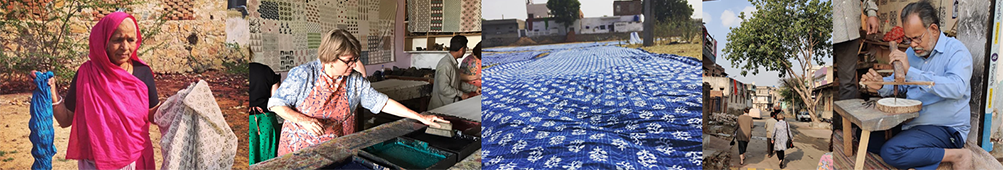 Block Printing Workshop at Bagru
